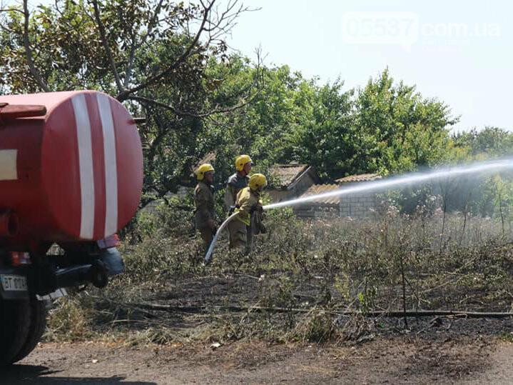 Пожары на Скадовщине из-за жары, фото-2