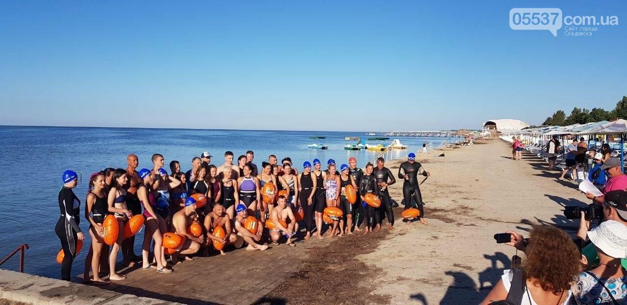 В Скадовске определены победители заплыва на Джарылгач, фото-2