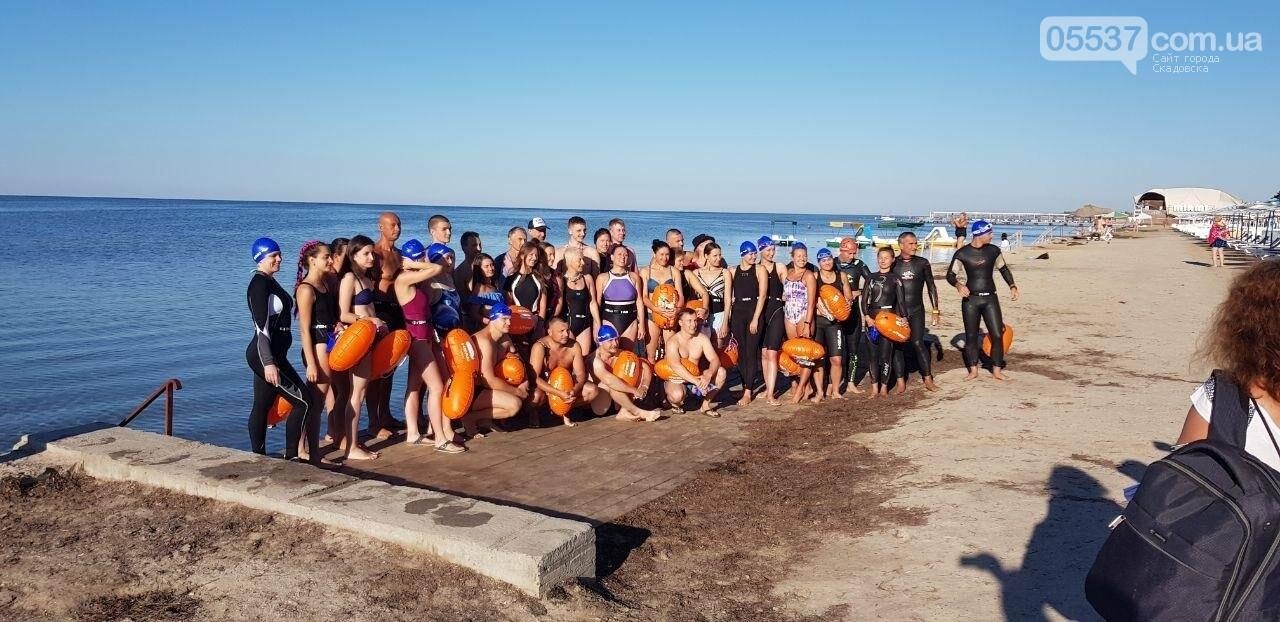 В Скадовске определены победители заплыва на Джарылгач, фото-4