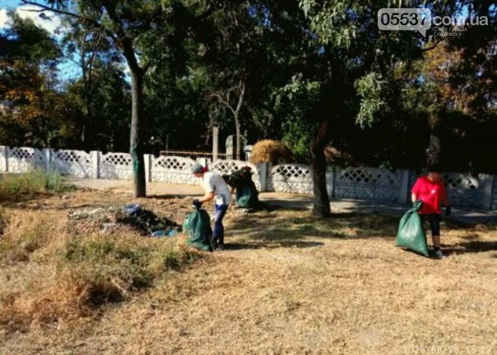 В Скадовске продолжается «генеральная уборка», фото-1
