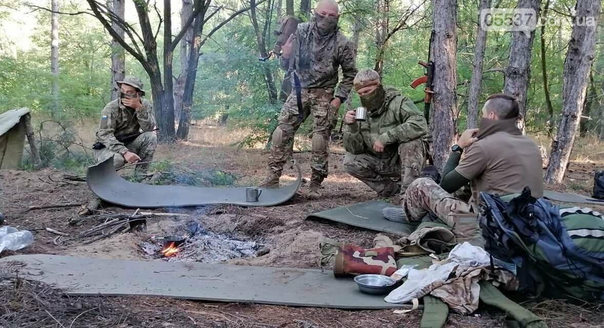 В Скадовске морские пехотинцы отрабатывают свои навыки, фото-6