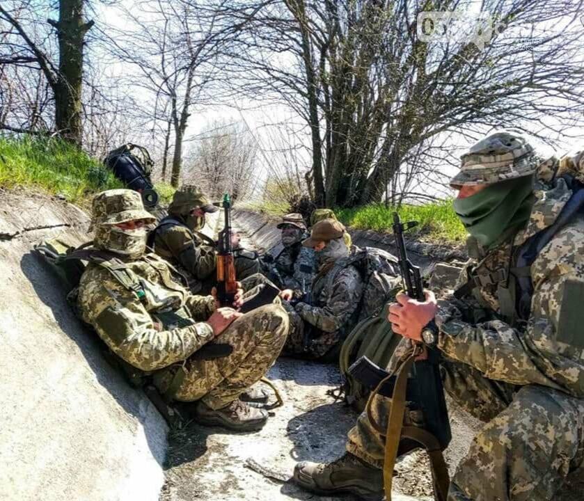 В Скадовске морские пехотинцы отрабатывают свои навыки, фото-5