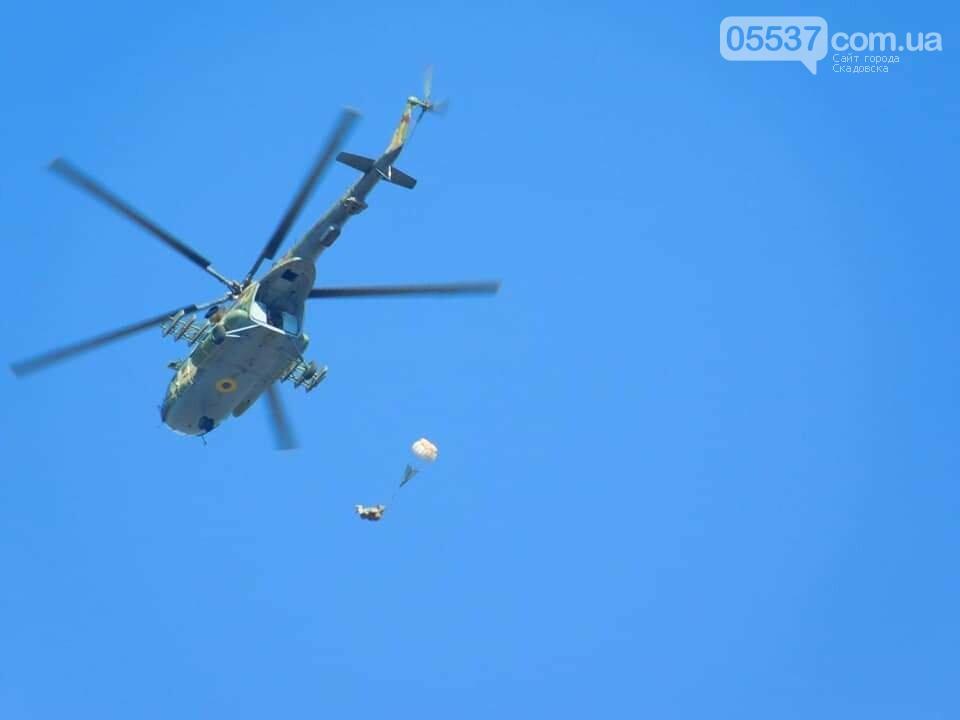 В Скадовске морские пехотинцы отрабатывают свои навыки, фото-3
