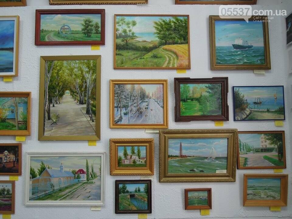 У скадовчан есть возможность увидеть, как город выглядит на картинах, фото-3