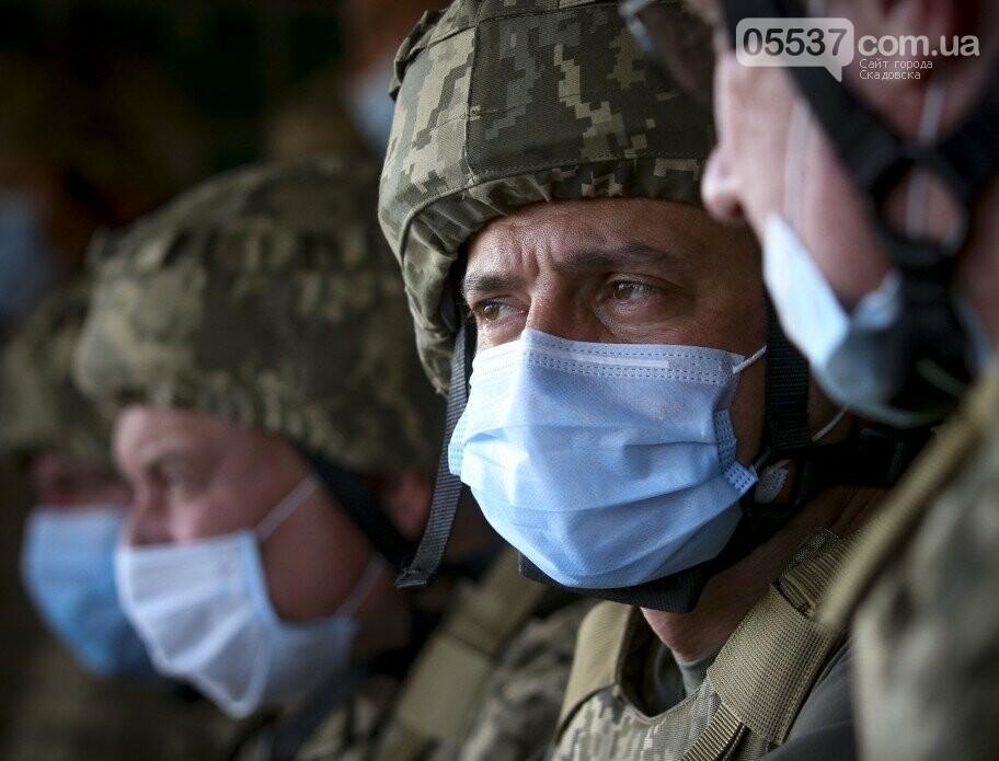 Появились фото вчерашних учений в Скадовске с участием Зеленского, фото-5