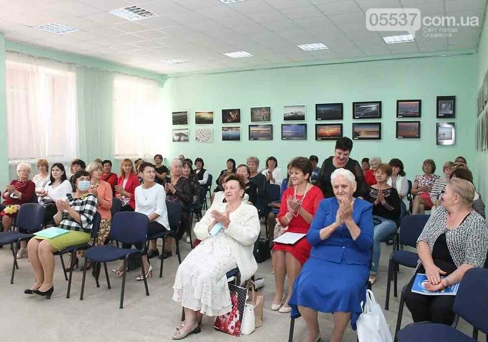 В Скадовске библиотекари принимали поздравления, фото-3