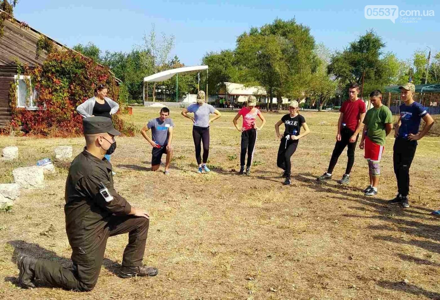 В Скадовском районе детей учили военному делу, фото-1