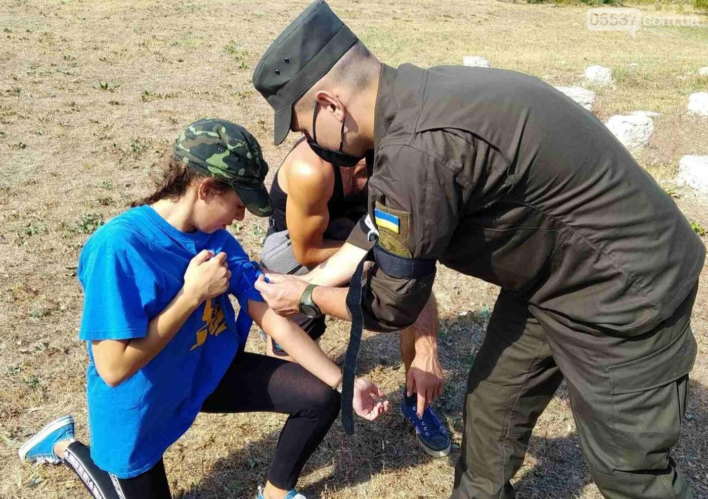 В Скадовском районе детей учили военному делу, фото-5