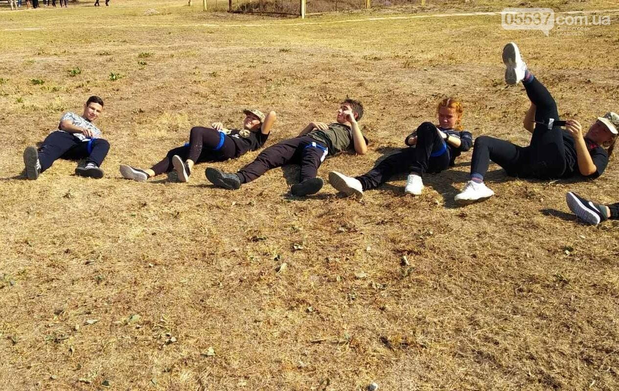 В Скадовском районе детей учили военному делу, фото-6