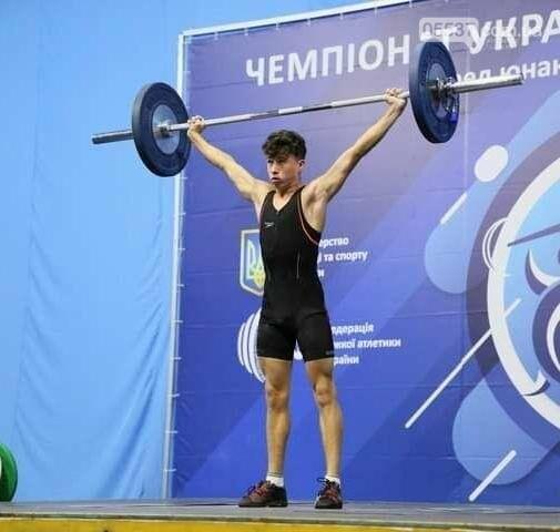 Как скадовские тяжелоатлеты выступили на Чемпионате Украины среди кадетов до 17 лет (ФОТО), фото-11