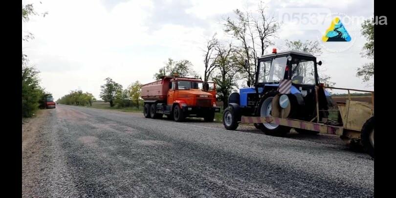 В Скадовском районе ремонтируют дорогу, фото-6