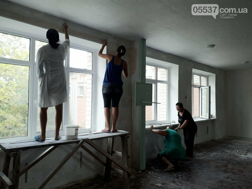 В Скадовске в детсаду отремонтировали спортивный зал, фото-5