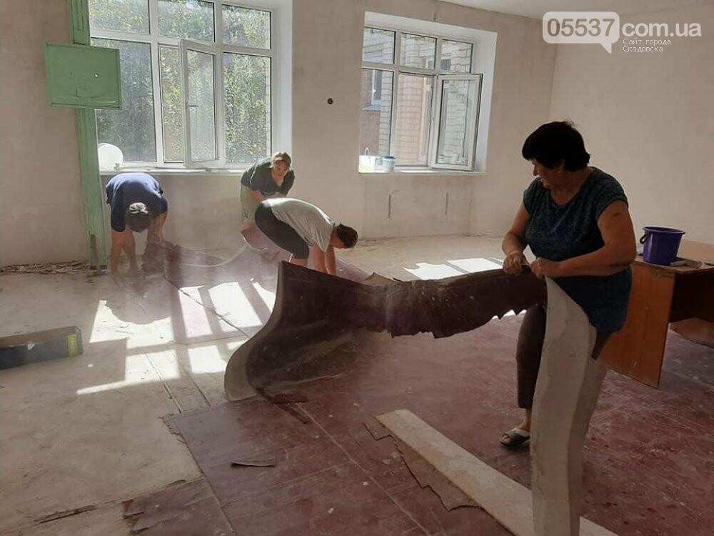 В Скадовске в детсаду отремонтировали спортивный зал, фото-6
