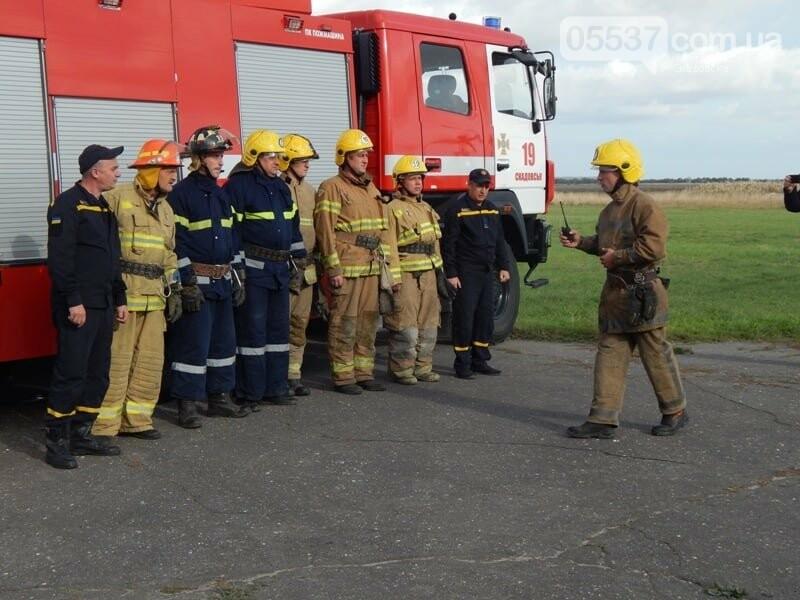 В Скадовске пожарные тушили самолет (ФОТО), фото-5
