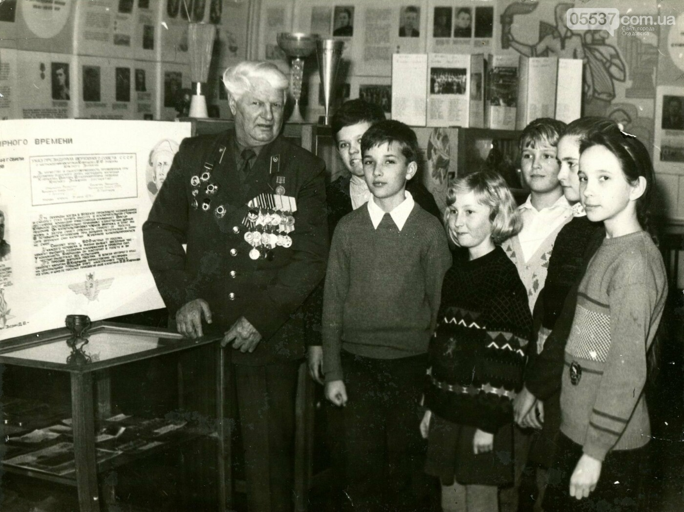 В Скадовском музее показали фото тех, кто освобождал город от нацистов, фото-5