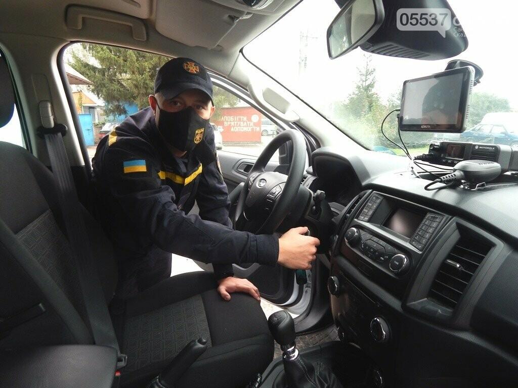 Скадовские спасатели обзавелись суперсовременным автомобилем, фото-2