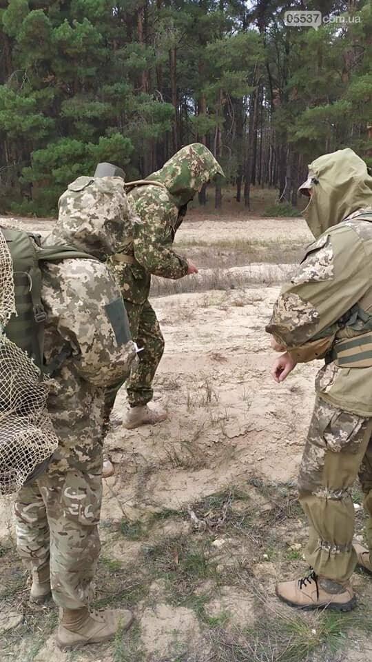 Скадовские морские пехотинцы тренировались вместе с воспитанниками военно-патриотических лагерей (ФОТО), фото-1