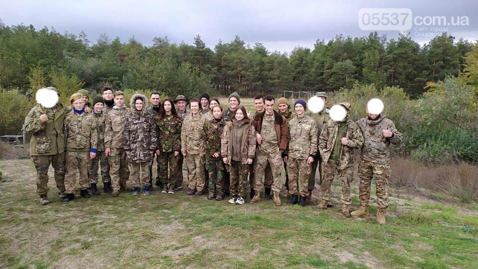 Скадовские морские пехотинцы тренировались вместе с воспитанниками военно-патриотических лагерей (ФОТО), фото-6