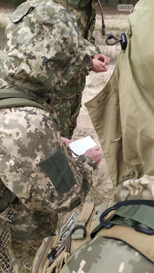 Скадовские морские пехотинцы тренировались вместе с воспитанниками военно-патриотических лагерей (ФОТО), фото-7
