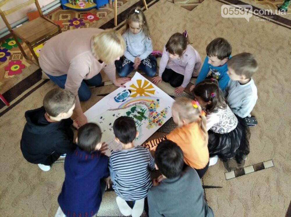 Дети в скадовских детсадах не смотря на карантин весело проводят время, фото-5