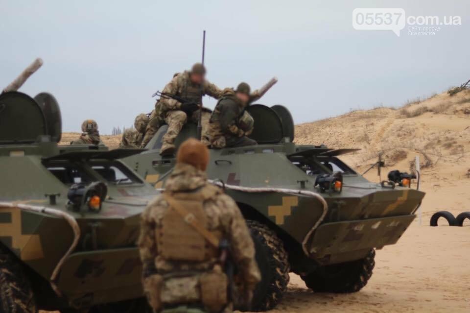 Как скадовские морские пехотинцы оттачивали свои навыки (ФОТО), фото-8