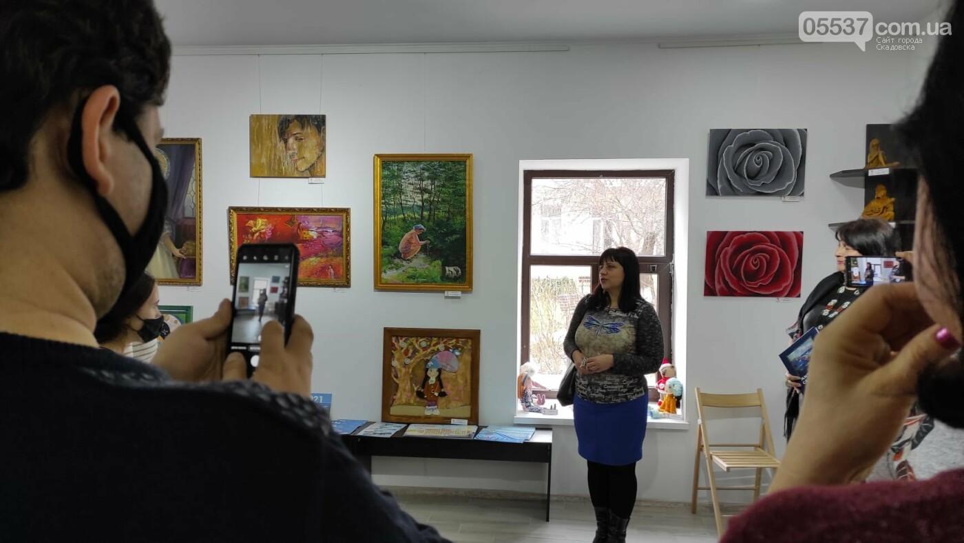 В Херсоне открылась выставка про творчество в Скадовском районе, фото-4