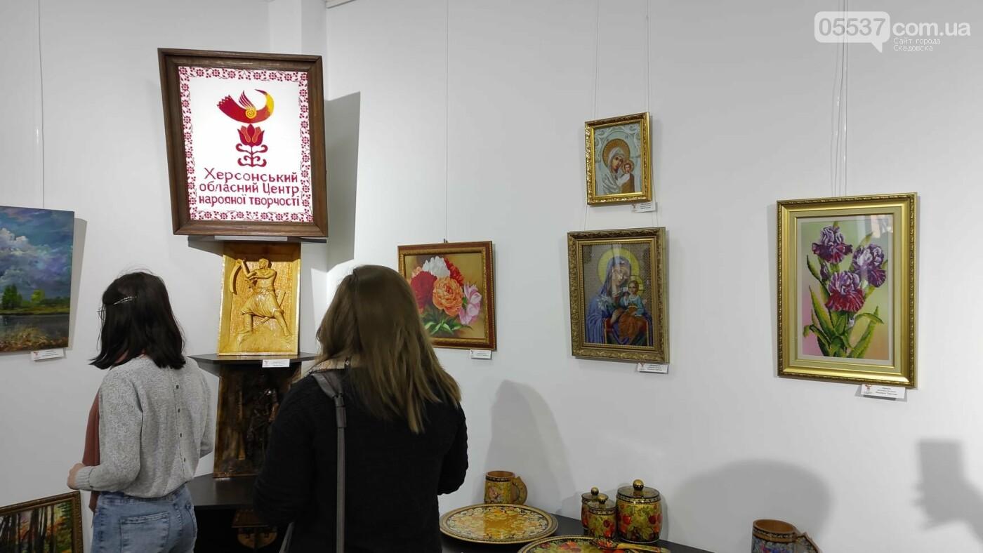 В Херсоне открылась выставка про творчество в Скадовском районе, фото-5