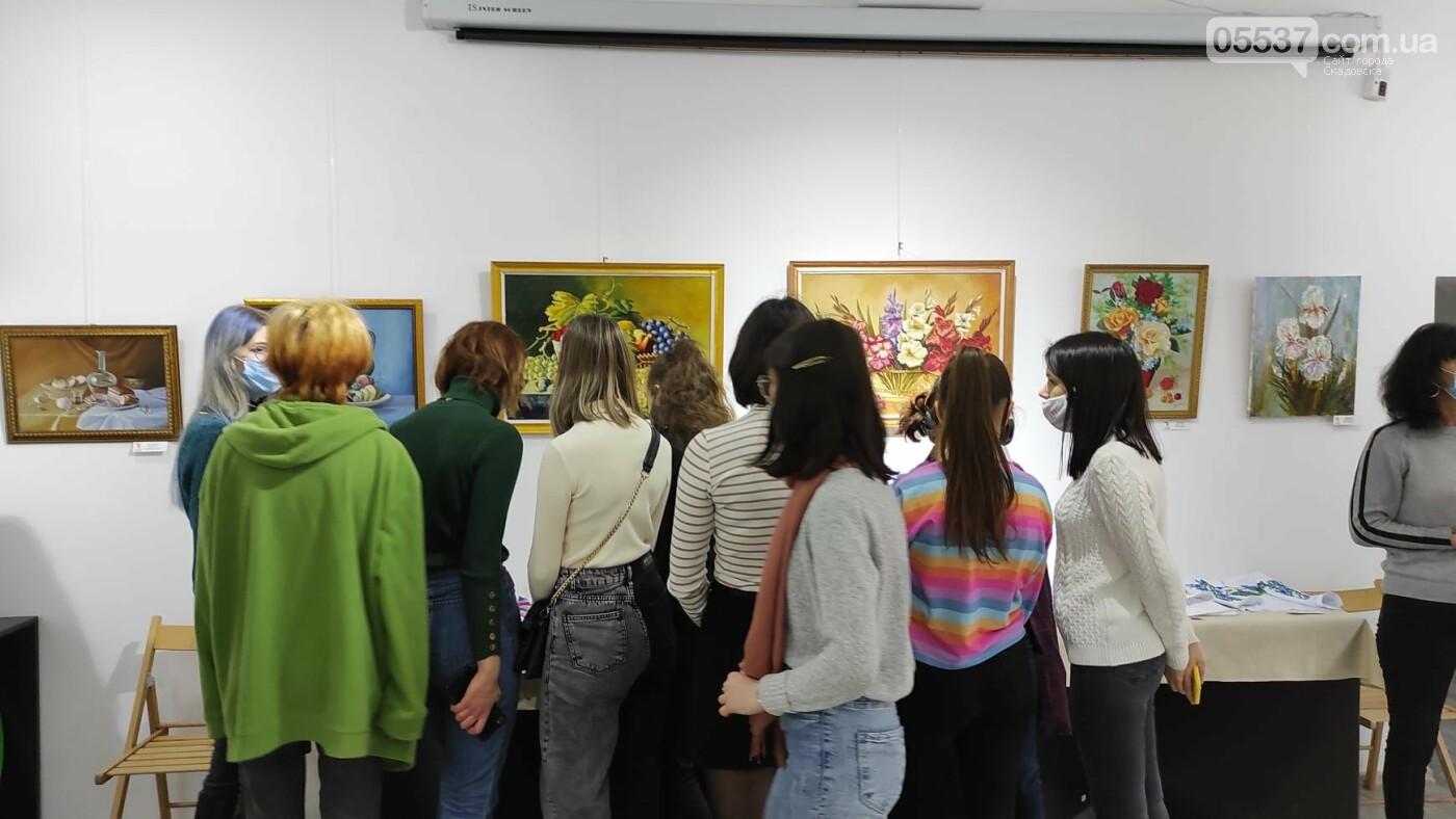 В Херсоне открылась выставка про творчество в Скадовском районе, фото-7