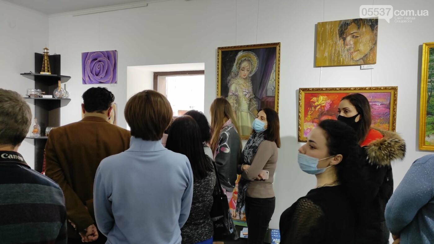 В Херсоне открылась выставка про творчество в Скадовском районе, фото-8