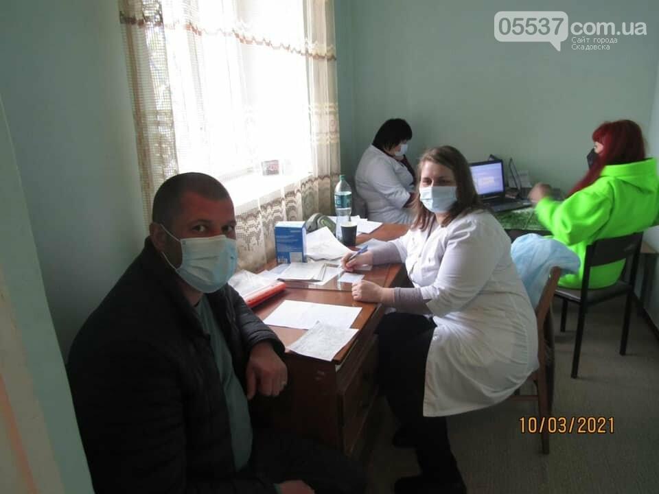 Как в Скадовске получали вакцину от коронавируса (ФОТО), фото-1