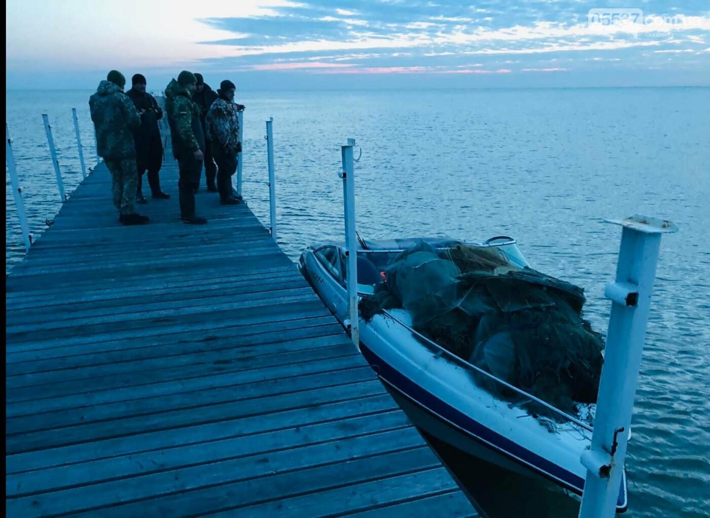 На скадовском Джарылгаче опять выявили браконьерские орудия лова, фото-3
