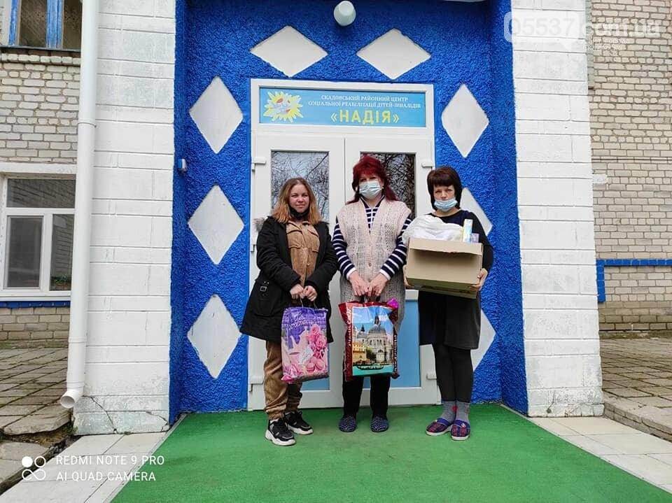 В скадовской школе помогли нуждающимся деткам (ФОТО), фото-4