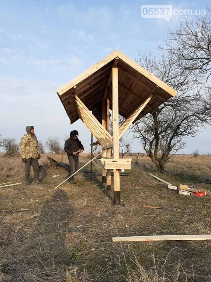 На скадовском Джарылгаче подкармливают животных (ФОТО), фото-3