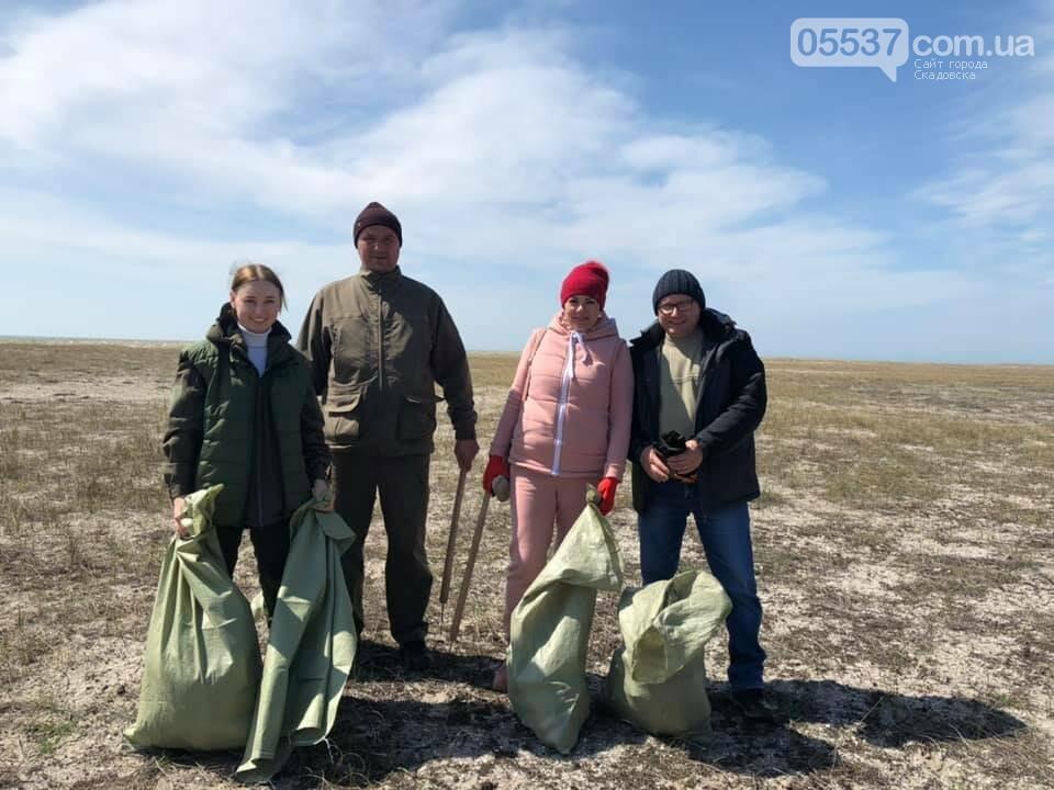 Из скадовского Джарылача вывезли много мусора (ФОТО), фото-4