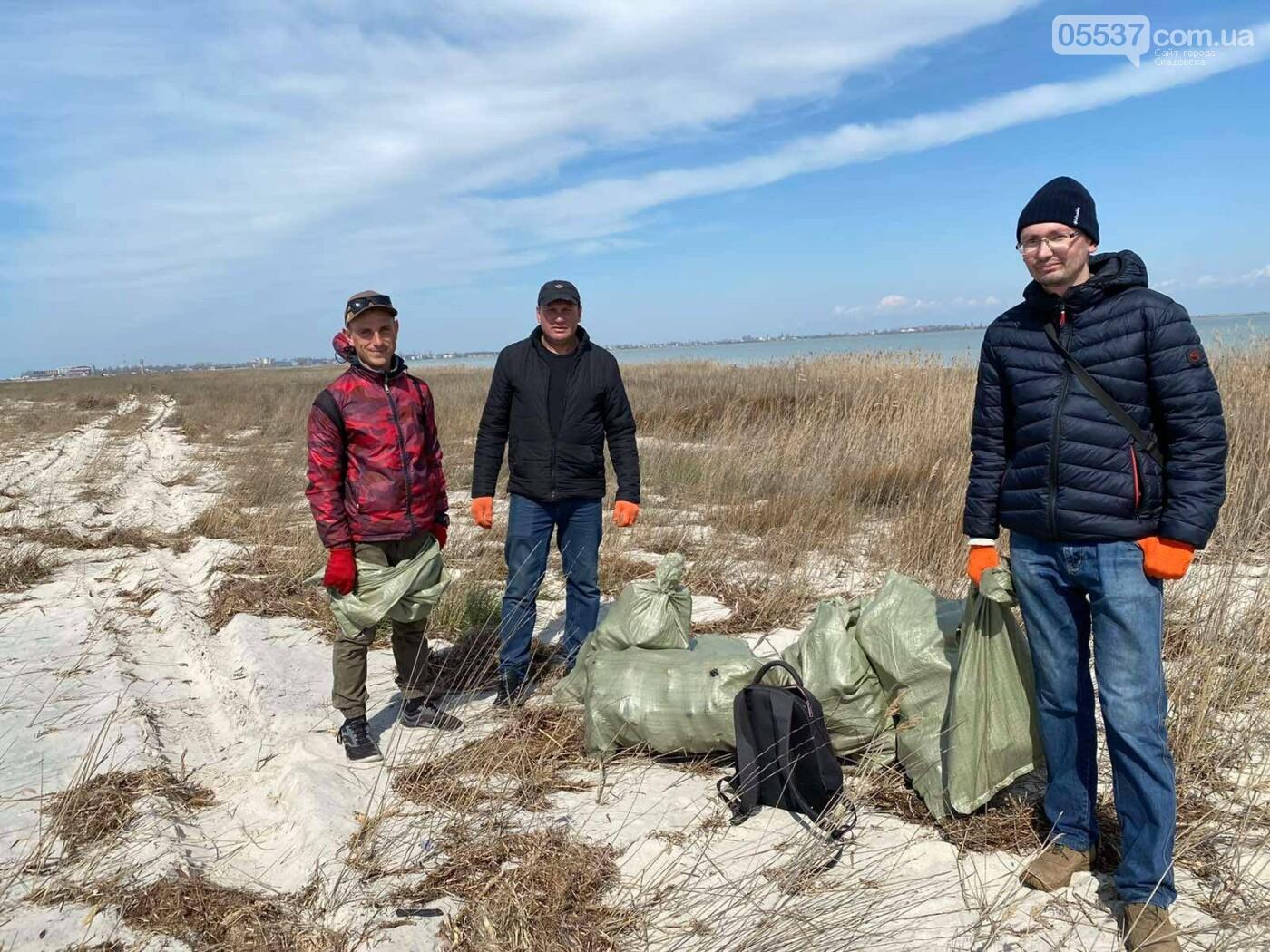 Из скадовского Джарылача вывезли много мусора (ФОТО), фото-7
