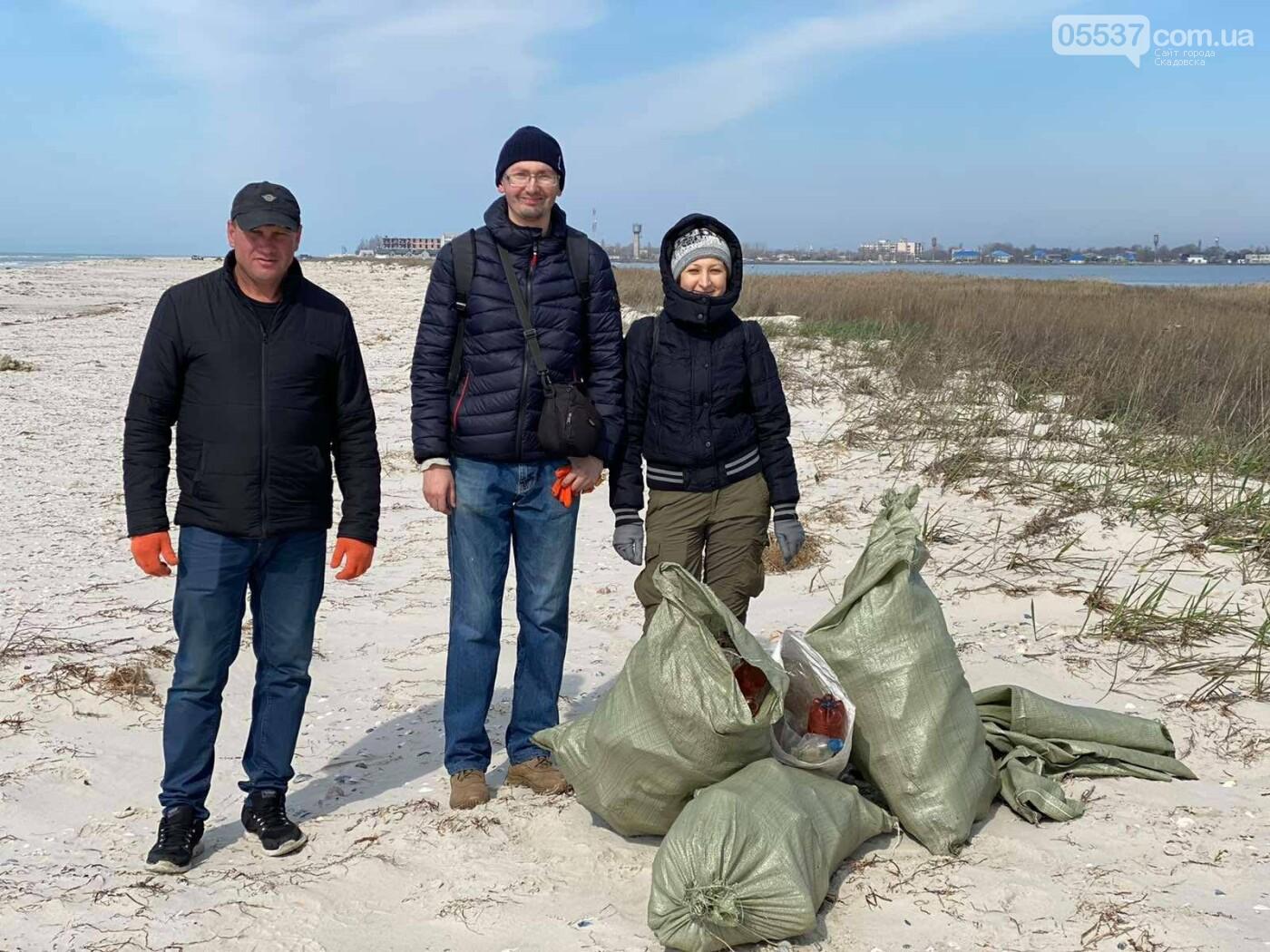 Из скадовского Джарылача вывезли много мусора (ФОТО), фото-13