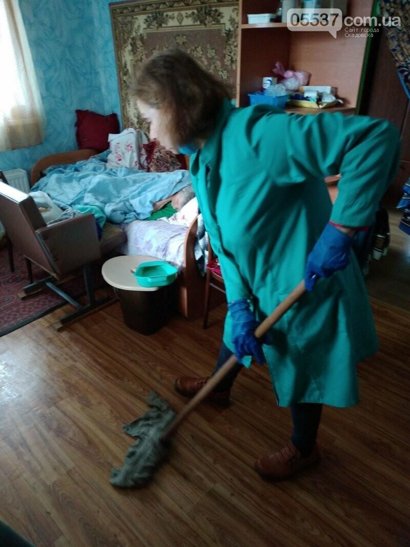 Как в Скадовске заботятся о престарелых, фото-5