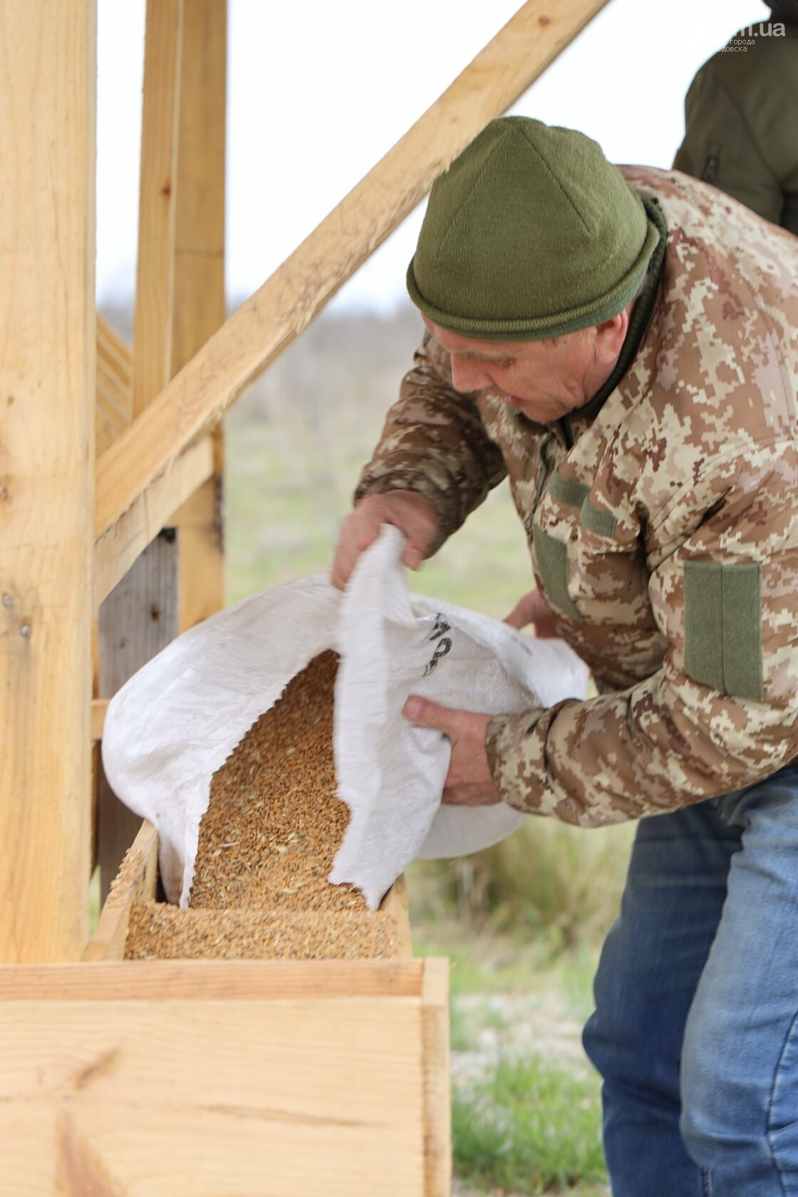 Как на скадовском Джарылгаче кормят животных (ФОТО), фото-8